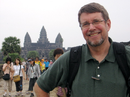 Jeff at Angkor Wat, 2006