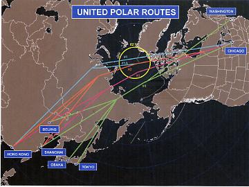 UAL Polar Routes